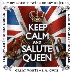 Various Artists - Keep Calm and Salute Queen cover art