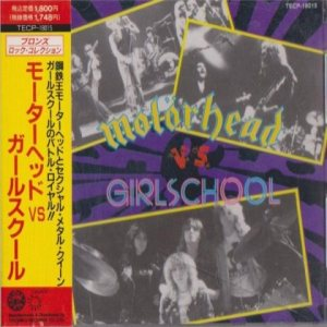 Motörhead / Girlschool - Motörhead vs Girlschool cover art