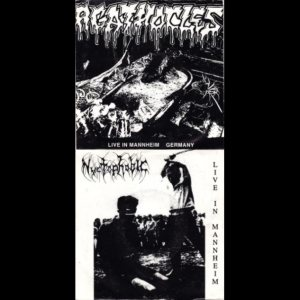 Agathocles / Nyctophobic - Live in Mannheim Germany / Live in Mannheim cover art