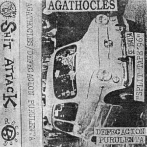 Agathocles - Split Tape'96 cover art