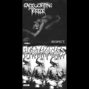 Agathocles / Excruciating Terror - Respect / Stained cover art