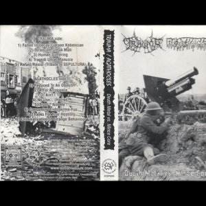 Agathocles / Trauma - Death Metal vs. Mince Core cover art