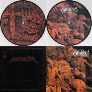 Nunslaughter / Cianide - Nunslaughter / Cianide cover art