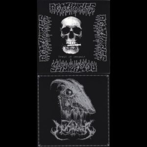 Nunslaughter / Agathocles - Nunslaughter / Agathocles cover art