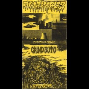 Grind Buto / Agathocles - Poisonous Profit / the Malevolent cover art