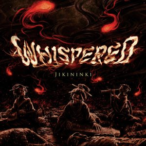 Whispered - Jikininki cover art