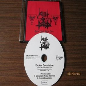 Vomit of Doom - Evoked Devastation (Vomit of Doom Promo 2014) cover art