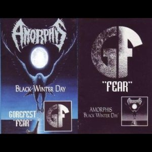 Amorphis / Gorefest - Black Winter Day / Fear cover art