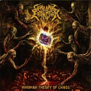 Cerebral Extinction - Inhuman Theory of Chaos cover art