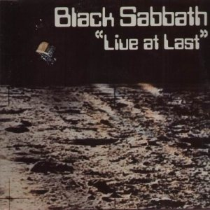 Black Sabbath - Live at Last cover art