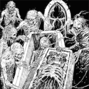 Coffins / Macabra - In Quarantine with Death cover art
