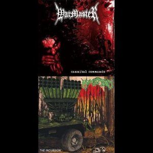 Warmaster / Humiliation - Cannibal Commando / the Incursion cover art