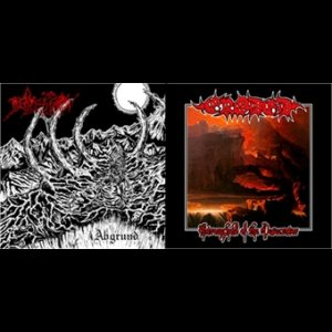 Depression / Eroded - Abgrund / Stronghold of the Desecrator cover art