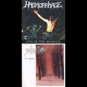 Haemorrhage / Depression - Zur Stille Finden / Live in the Morgue cover art