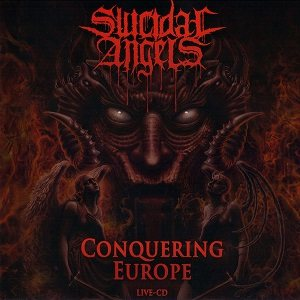 Suicidal Angels - Conquering Europe cover art