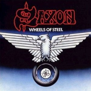 Saxon - Wheels of Steel cover art