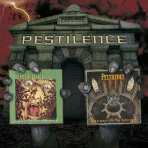 Pestilence - Consuming Impulse / Testimony of the Ancients cover art
