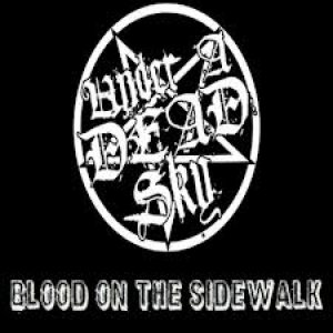 Under a Dead Sky - Blood on the Sidewalk cover art