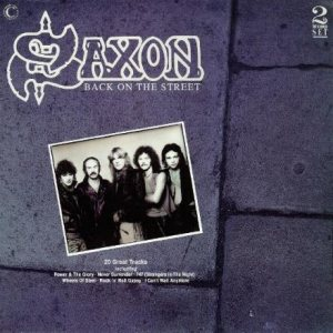 Saxon - Back on the Street cover art