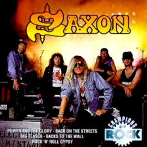 Saxon - Champions of Rock cover art