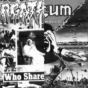 Nasum / Agathocles - Who Shares the Guilt? / Blind World cover art