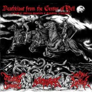 Paganus Doctrina / Morbid Funeral - Deathblast from the Center of Hell cover art