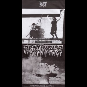 Agathocles / Rot - Our Freedom - a Lie / Wiped from the Surface cover art