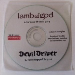 Lamb of God / DevilDriver - In Your Words / Fate Stepped In cover art