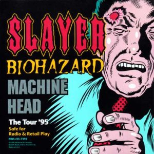 Slayer / Machine Head - The Tour '95 cover art