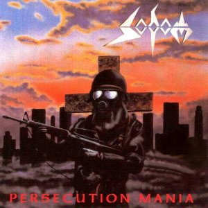 Sodom - Persecution Mania cover art