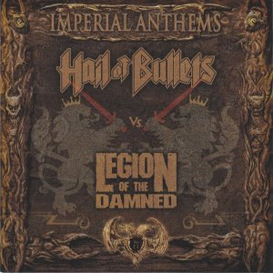 Hail of Bullets / Legion of the Damned - Imperial Anthems Vol. 11 cover art