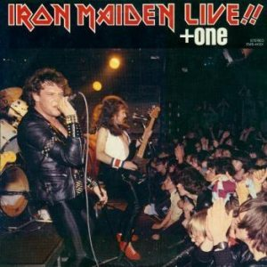 Iron Maiden - Live!! + One cover art
