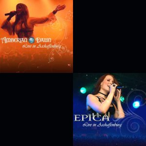 Amberian Dawn / Epica - Live @ Aschaffenburg cover art