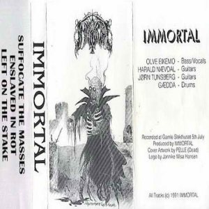 Immortal - Immortal cover art