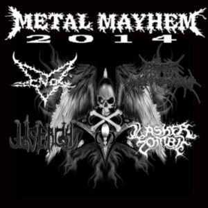 Death Suppressor / Lasher Zombie - Metal Mayhem 2014 cover art