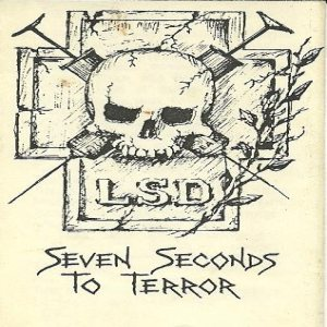 LSD - Seven Seconds to Terror cover art