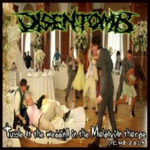 Disentomb - Tussle at the wedding in the Moldavian thorpe cover art