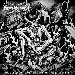 Religion Malediction - EP 2014 cover art