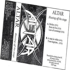 Altar - Blasting Off the Stage cover art