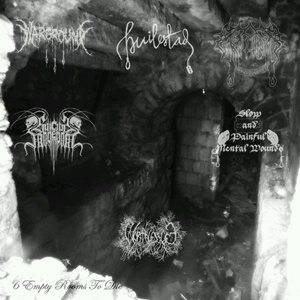 Suicide Movement / Warground / Worthless Life - 6 Empty Rooms to Die cover art