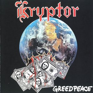 Kryptor - Greedpeace cover art