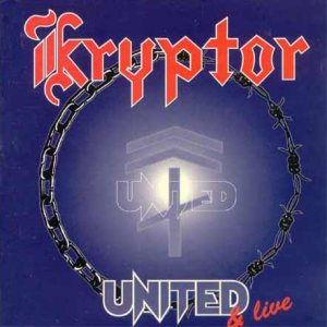 Kryptor - United & Live cover art