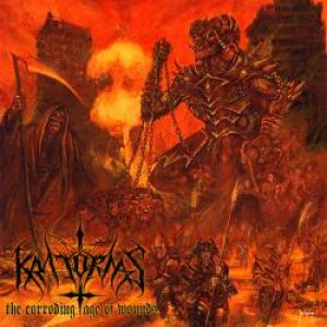 Kratornas - The Corroding Age of Wounds cover art