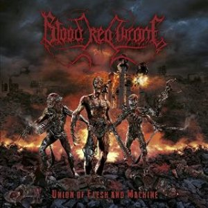 Blood Red Throne - Union of Flesh and Machine cover art
