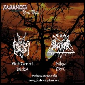 Black Torment - Darkness Promo Media cover art