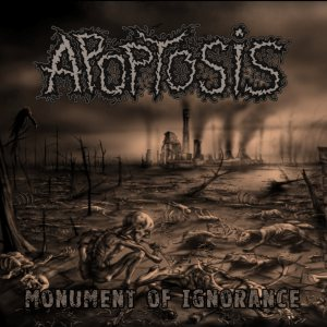 Apoptosis - Monument of Ignorance cover art