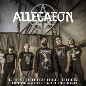 Allegaeon - Gray Matter Mechanics - Apassionata Ex Machinea cover art