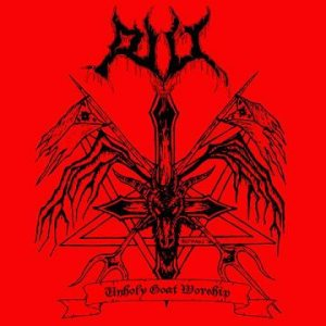 RIIT - Unholy Goat Worship cover art