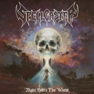 Spellcaster - Night Hides the World cover art