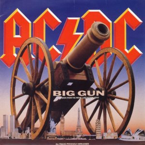 AC/DC - Big Gun cover art